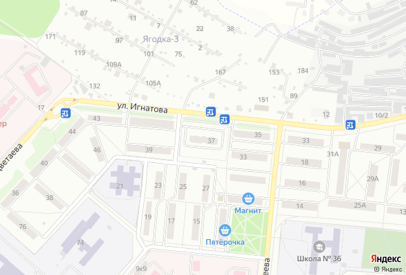 продажа квартир Ул. Игнатова 37