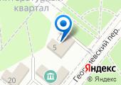 Красный крест на карте