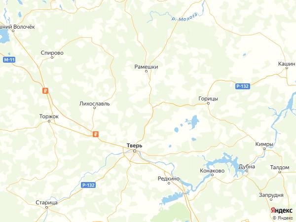 деревня Русино на карте