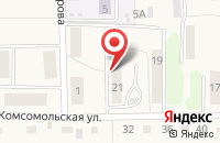 Схема проезда до компании Отделение почтовой связи в Пятовском