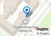 Правительство Орловской области на карте