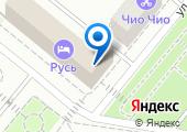 Автостоянка на Максима Горького на карте