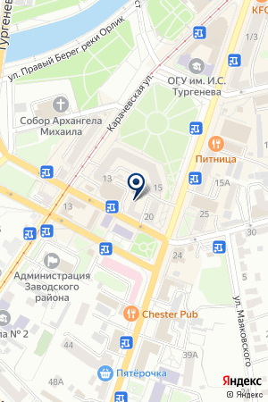 Ай Пи Ком на карте Орла