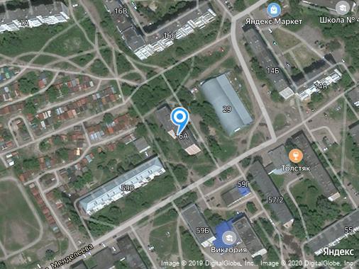 Сдается посуточно студия, 20 м², Курск, улица Крюкова, 16А