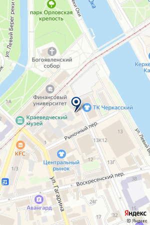 АПТЕКА КАДИС на карте Орла