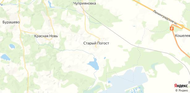 Старый Погост на карте