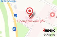 Схема проезда до компании Плещеевская Центральная районная больница в Плещеево