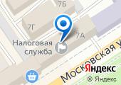 УФНС на карте