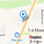 ПрофКровля46 на карте Курска