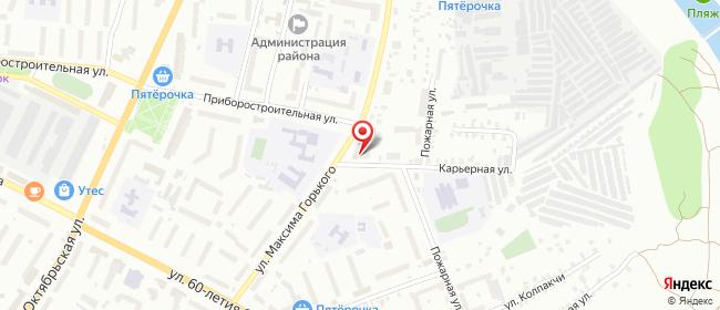 Карта расположения пункта доставки 220 вольт в городе Орёл