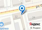 Управление труда и занятости Орловской области на карте