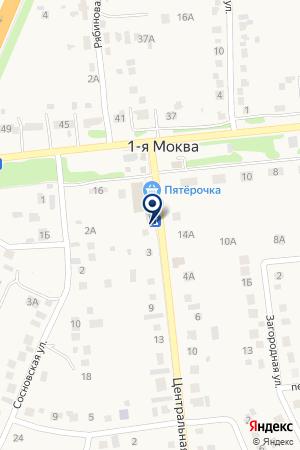 Магазин продуктов на карте 1-й Моквы
