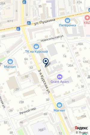ТРАНСПОРТНАЯ ФИРМА ДОРСЕРВИС на карте Орла