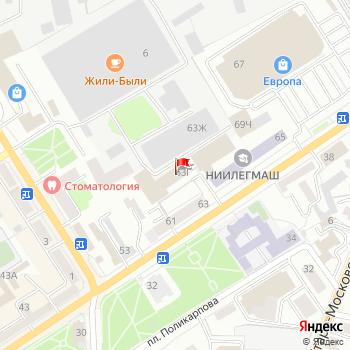 г. Орел, ул. Московская,63Г на карта