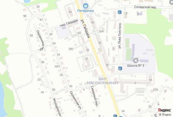 жилой комплекс по ул. Гайдара, 37