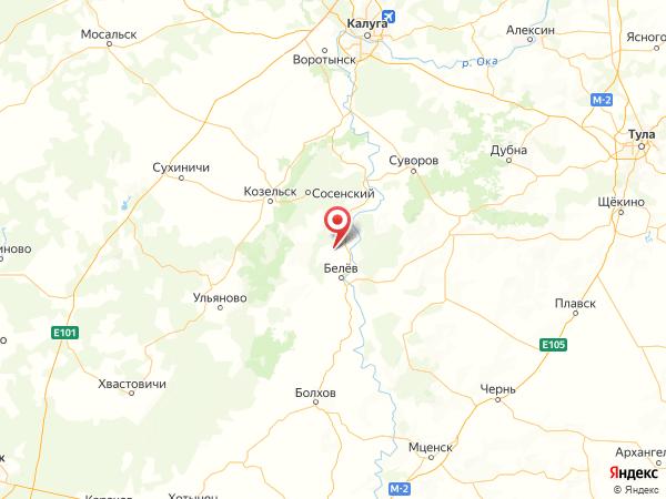 деревня Пашково на карте