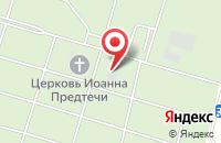 Схема проезда до компании Южное кладбище в Селиховых Дворах