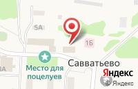 Схема проезда до компании ЖКХ в Пасынково
