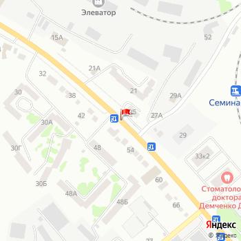 г. Орел, ул. Ливенская, на карта