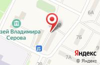 Схема проезда до компании Тверской печной центр в Эммаусе