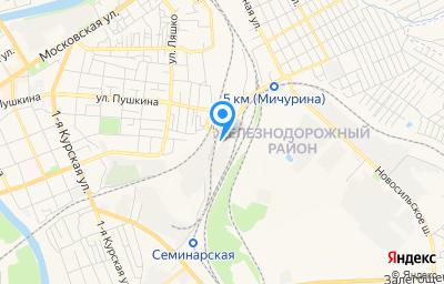 Местоположение на карте пункта техосмотра по адресу г Орёл, ул Семинарская, д 3, пом 3