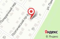 Схема проезда до компании Радонеж-Курск в Курске