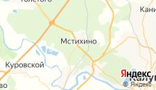 Отели города Мстихино на карте