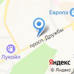 Винтик и Шпунтик на карте Курска
