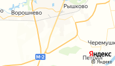Отели города Кукуевка на карте