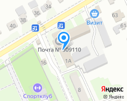 Схема местоположения почтового отделения 309110