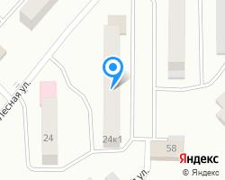 Схема местоположения почтового отделения 248915