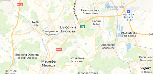 Ржавец на карте