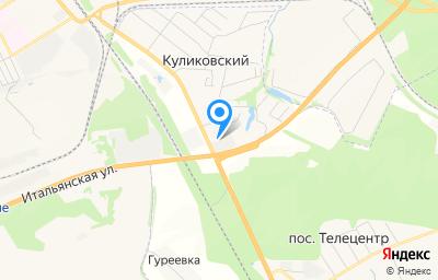 Местоположение на карте пункта техосмотра по адресу Орловская обл, Орловский р-н, поселок Куликовский, ул Совхозная, д 2А стр 2