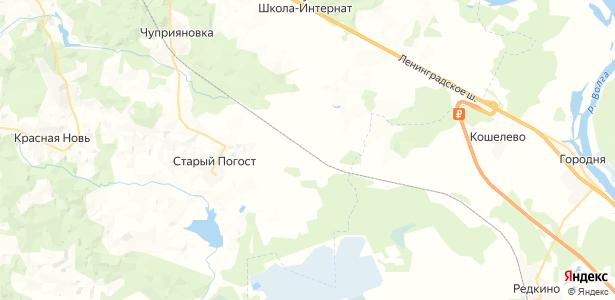 Кузьминка на карте