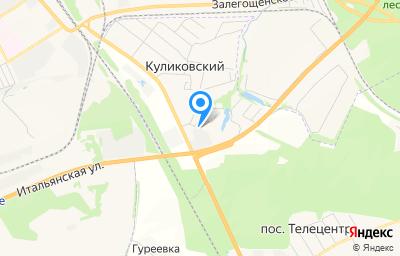 Местоположение на карте пункта техосмотра по адресу Орловская обл, Орловский р-н, п Куликовский, ул Совхозная, д 2А стр 2