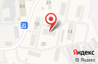 Схема проезда до компании Почтовое отделение в Касиновском