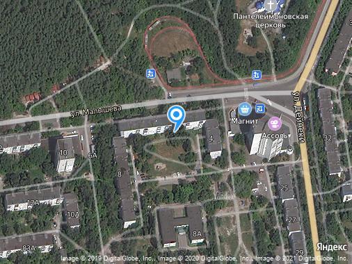 Сдам 2-комнатную квартиру, 47 м², Курск, улица Малышева, 6