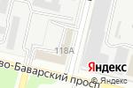 Схема проезда до компании Amper в Харькове