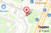 Схема проезда до компании Центрально-Черноземный банк Сбербанка России в Курске