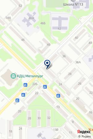 ФИЛИАЛ №8595/020 ОРЛОВСКИЙ БАНК СБЕРБАНКА РФ на карте Орла