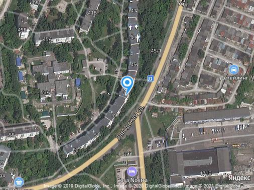 Сдается 1-комнатная квартира, 32 м², Курск, улица Заводская, 47