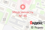 Схема проезда до компании Промкооперация в Курске