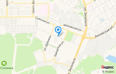 Местоположение на карте пункта техосмотра по адресу г Курск, ул Ольшанского, ГСК 59, гараж 13В