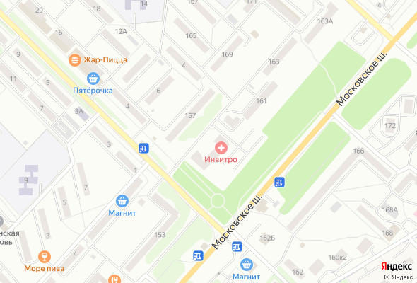 жилой комплекс по Московскому шоссе