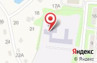 Схема проезда до компании Средняя общеобразовательная школа №33 в Шопино