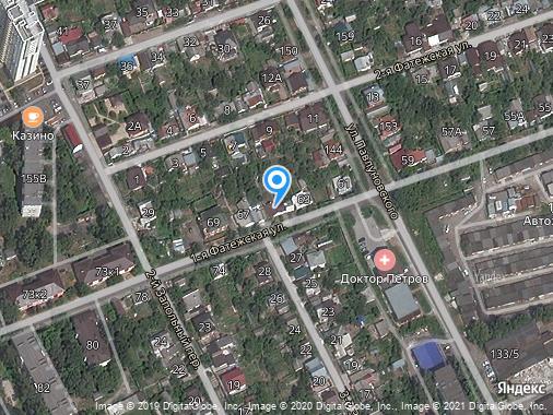Аренда гаража, Курск, 1-я Фатежская улица, 65