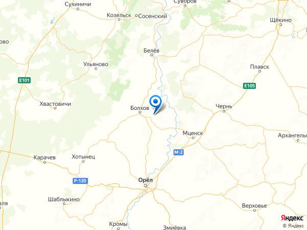 деревня Мартыновка на карте
