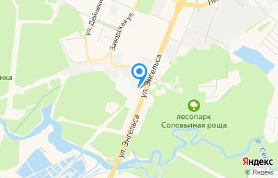 Местоположение на карте пункта техосмотра по адресу г Курск, ул Энгельса, д 173
