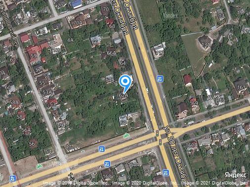 Сдам землю под ИЖС, Курск, улица 50 лет Октября, 62А
