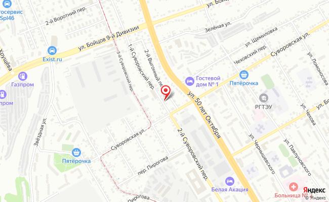 Карта расположения пункта доставки Халва в городе Курск